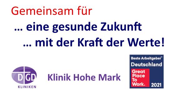 Klinik Hohe Mark: 6. Oberurseler Werte- und Wirtschaftskongress - Online