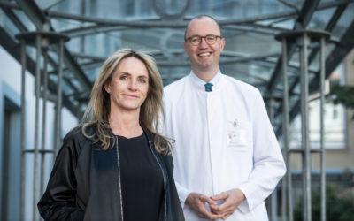 Von Sehnen und Senkungsbeschwerden: Heike Stockmann in Frankfurt mit weltweit neuer OP-Methode operiert